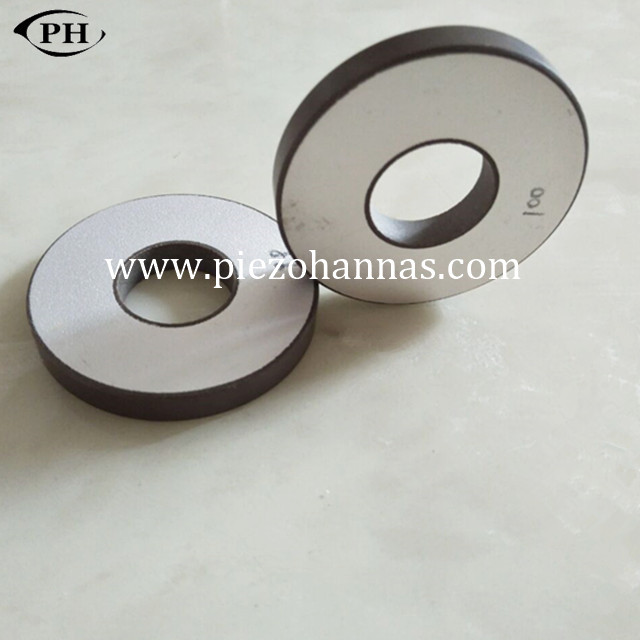 Custom Piezoelectric Ceramic Ring Componnets for Vibration Transducer