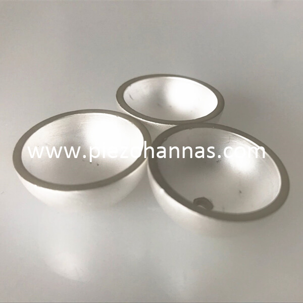 High Quality Piezoelectric Ceramic Bowls Transducer for Hydrophone