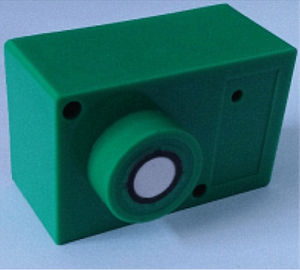 200 KHz Compact Ultrasonic Sensor for Distance Measurement of Fluids
