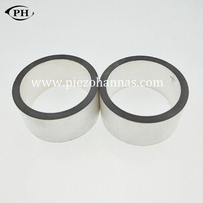 high frequency ring shape piezoelectric transducer for igniter