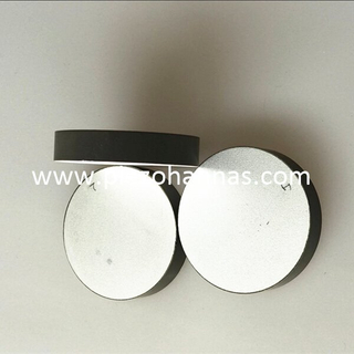 piezoelectric ceramic cylinder crystal for wall thickness sensor