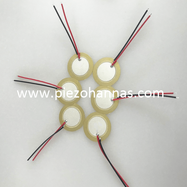 Metal Material Brass 5 Khz Piezo Element Piezo Diaphragm