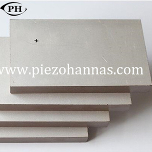high density piezo vibration plate with P5 material for ultarsonic devices