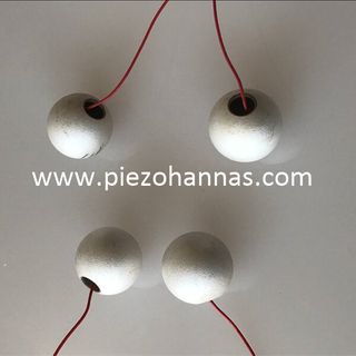 high density piezoceramic sphere piezoelectric energy harvesting
