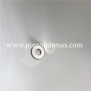 Pzt 4 piezoelectric ceramic ring component for washing machine