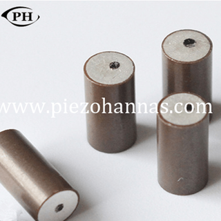 40 Khz High Power Acoustic Cylindrical Piezoelectric Transducer