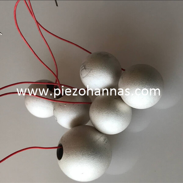 cheap piezoelectric materials sphere piezo ceramic transducer