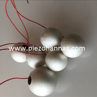 piezoelectric materials cost piezo sphere for ultrasonic vibration transducer