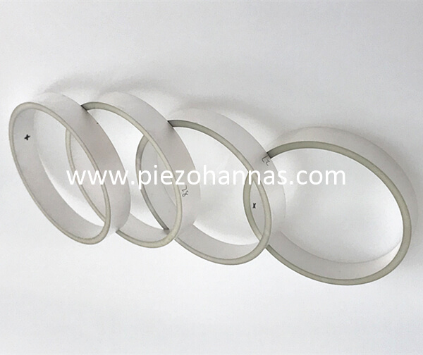 pzt piezoelectric piezo tube stack for hydrophone
