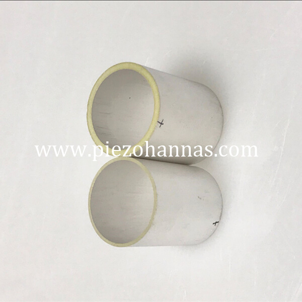 high performance piezo ceramic tube for sonar
