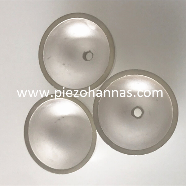 high density piezo ceramic spheres for hydrophone