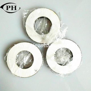 high frequency piezoelectric ring transducer for gas sensor
