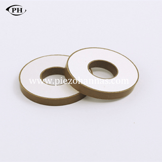 Stock P8 Material Piezoceramic Ring Componnets for Ultrasonic Welding