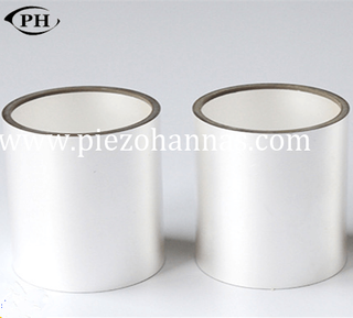 7.65×6.5×6.5mm PZT tube piezoelectric cylinders for medical diagnosis