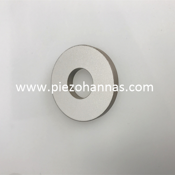 Pzt8 Material Piezoelectric Ring Crystal for Ultrasonic textile Cutting