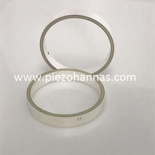 pzt-5a cylindrical piezoelectric tube stack for underwater acoustic