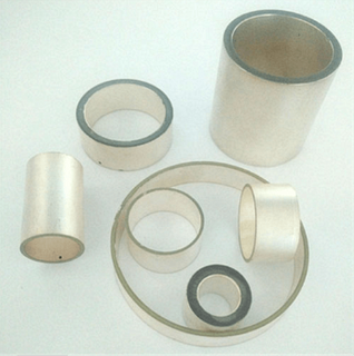 Pzt Material Piezoceramic Cylinder for Underwater Acoustic Transducer