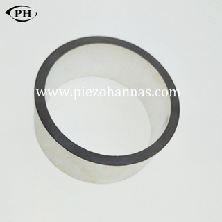 34mmx10.5mmx5mm customized PZT 5 piezo rings for flow measurement