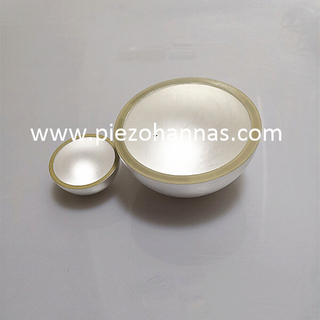Stock Pzt Ceramic Hemisphere Piezocramic Bowl for Acoustic Modem