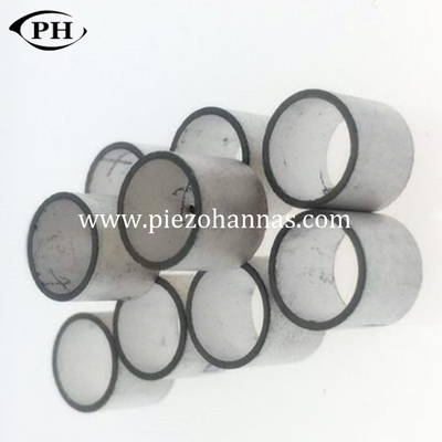 PZT-52 small size piezoelectric ceramic tube customs piezo tube component