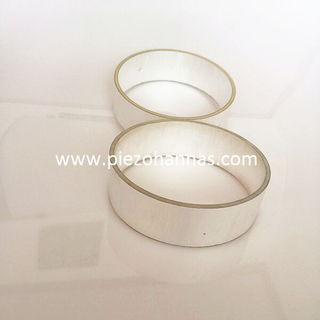 Customized Silver Plating Piezo Cylinder for Underwater Acoustics