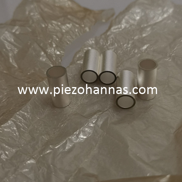 Custom PZT5A Piezo Ceramic Tube for Hydrophone Transducer