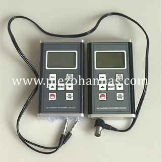 400mm Bluetooth Ultrasonic Thickness Gauge on The Steel Material
