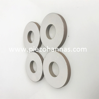 Piezoceramic Ring Piezoelectric Ceramic Sensor for Wheel Balancing Machines