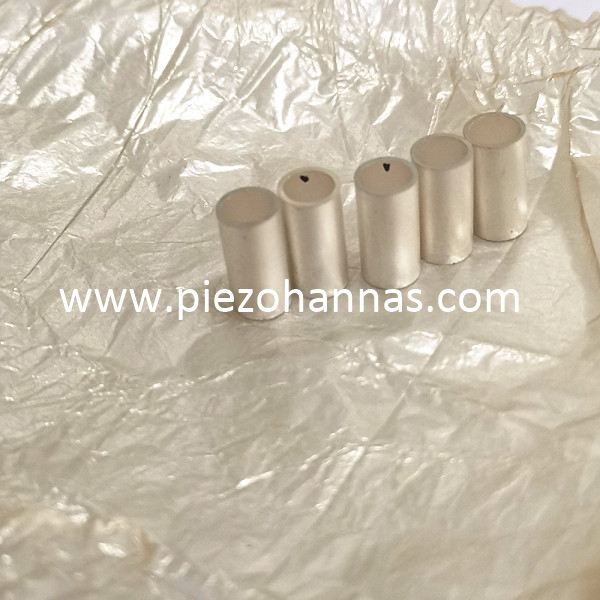 Pzt5 Material Piezoelectric Tube Transducer for Fish Finder