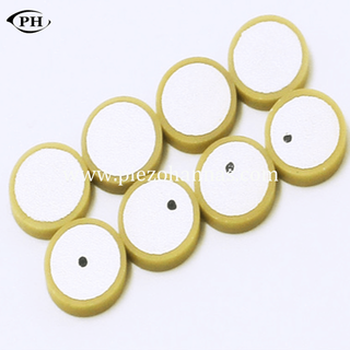 Poled Piezoelectric Ceramic Piezo Disc Sensor for Vibration Transducers