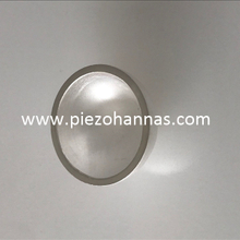 high sensitivity piezoelectric ceramic bowls piezo hemisphere for underwater acoustic